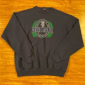 Vintage North Carolina Tar Heels Sweatshirt